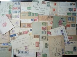 ALGERIE - BEL ENSEMBLE De + 100 LETTRES ET CARTES COMPLETES - BON ETAT GENERAL - Algérie (1924-1962)