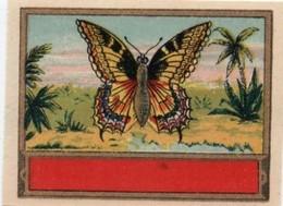 """Etiquette Ancienne Chromo Anglais /Produit D'hygiéne /""""Papillon """"/non Personnalisé/Vers 1890-1910  PARF139 - Chromos"""