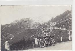 Altes Motorrad (Harley-Davidson) - Fotokarte        (P-141-70208) - Motorräder
