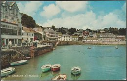The Harbour, St Mawes, Cornwall, C.1970 - Salmon Postcard - England