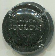 CAPSULE-CHAMPAGNE COULON Roger N°13a Estampée Noir - Other