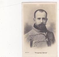 CPA Kronprinz Rudolf Von OSTERREICH - UNGARN - Personnages