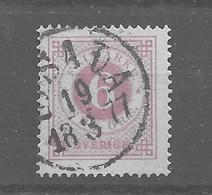 Sello De Suecia Nº Yvert 19 (B) O Dentado 14 - Usati