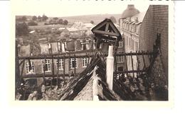 Photo Originale-Carlsbourg-Institut St-Joseph-Internat-Incendie De 1955-Petit Clocher-Cloche-format: 9x6 Cm - Lieux