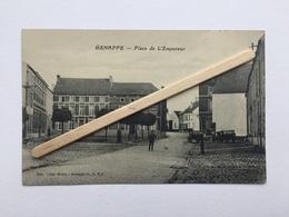 GENAPPE»PLACE DE L'EMPEREUR «Panorama,animée ,Chariots(Édit LUTTE-HENRI ,Genappe L.S.G (BAUDINIÈRE ,Paris ). - Genappe