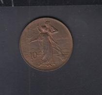 Italia 10 Centesimi 1911 - 1861-1946 : Koninkrijk