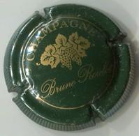 CAPSULE-CHAMPAGNE ROULOT Bruno N°02 Vert Foncé Striée - Champagnerdeckel