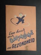 VP PETIT LIVRE PUBLICITAIRE (M1810) VICHY-THEE (3 Vues) Een Kuur Voor OPTIMISME En GEZONDHEID - Livres, BD, Revues