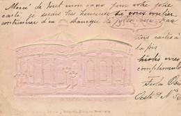 Cpa RELIEF CARACAS EL TEATRO MUNICIPAL VENEZUELA 1904 - Venezuela