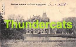 CPA ENVIRONS DE LIERRE LIER CHATEAU DE BIST KESSEL - Lier