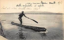 Tchad - Pirogue Kabalaï. - Chad