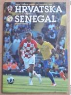 Hrvatska - Senegal Sluzbeni Program - Livres