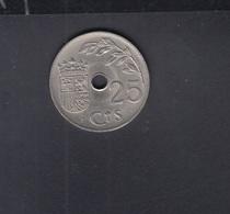Espana 25 Centimos 1937 - 25 Céntimos