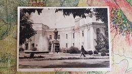 Tajikistan. STALINABAD CITY (DUSHANBE). Stalin Monument Near Central Communist Party Building. - Old USSR PC. 1947 - Tajikistan