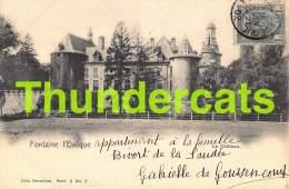 CPA FONTAINE L'EVEQUE LE CHATEAU  NELS SERIE 3 NO 2 - Fontaine-l'Evêque