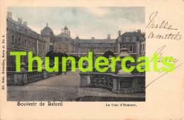 CPA SOUVENIR DE BELOEIL LE CHATEAU LA COUR D'HONNEUR NELS SERIE 45 NO 2 - Beloeil