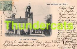 CPA 1899 HAVRE LE CHATEAU D'HAVRE LES ENVIRONS DE MONS NELS SERIE 6 NO 10 - Mons