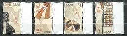 Hong Kong 2003 Traditional Instruments.music.MNH - 1997-... Région Administrative Chinoise