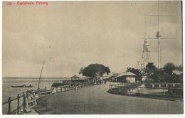 362 Penang Esplanade  Federal Rubber Stamp Semaphore - Malaysia