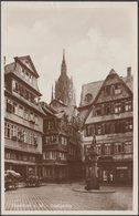 Saalgasse, Frankfurt Am Main, Hessen, C.1920s - Vaternahm Foto AK - Frankfurt A. Main