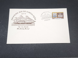 MACAO - Enveloppe FDC 1964 - L 19041 - Macau
