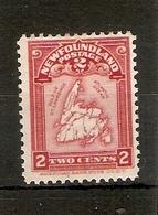 NEWFOUNDLAND 1908 2c MAP OF NEWFOUNDLAND SG 94 MOUNTED MINT Cat £29 - 1908-1947
