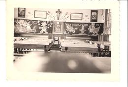 Photo Originale-Carlsbourg-Institut St-Joseph-Pâques1955-cours De Dessin à L'Ecole Normale-format: 10x7 Cm - Lieux