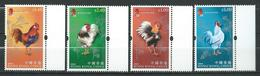 Hong Kong 2005 Chinese New Year - Year Of The Rooster.MNH - 1997-... Chinese Admnistrative Region