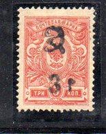683 490 - ARMENIA 1920 , 3R / 3 K.  Unificato N. 32 Nuovo * - Armenia