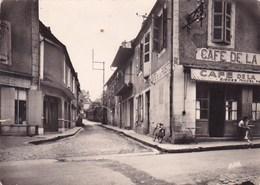 Salviac Rue Des Ecoles Café De La Poste Animée Jeune Fille A Une Table - Salviac
