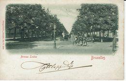 BRUXELLES-AVENUE LOUISE-CAVALIERS-CARTE GAUFREE- - Cafés, Hôtels, Restaurants
