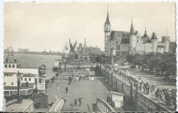 Antwerpen - Anvers - 28 - Aanlegplaats En Steen - Débarcadère Et Le Steen - Edition Prevot Anvers - Belgique