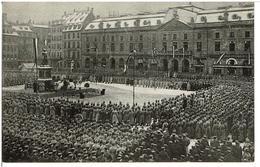 STRASBOURG -  Feldgottesdienst Auf Dem Kleberplatz - Kaisersgeburtstag   27.1.1915 - Straatsburg