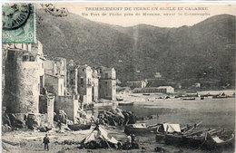 Tremblement De Terre En Sicile Et Calabre - Un Port De Peche Près De MESSINE, Avant La Catastrophe     (106711) - Messina