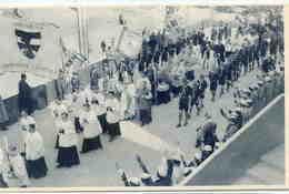 Exposition  Bruxelles 1935 - Palais De La Vie Catholique... Belle Cpa Animée - Scoutisme