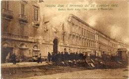 MESSINA Dopo Il Terremoto Del 28 Dicembre 1908 - Antica Porta Della Citta      (106715) - Messina