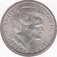 100 Francs Marie Curie 1984. Argent. - Francia