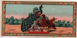 Etiquette Ancienne Chromo Anglais/Produit D'hygiène/Paon Et Poule /non Personnalisée/Vers 1890-1910 PARF152 - Chromos
