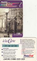 GREECE - Cinema 2, Panafon Prepaid Card 2000 GRD, Used - Greece