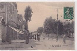 Souillac La Promenade Tres Animée Et Le Boulevard 1911 - Souillac
