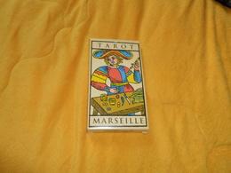 TAROT DE MARSEILLE EDITIONS FABBRI LO SCARABEO. / 22 ARCANES MAJEURS. - Tarot-Karten