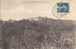 LE CHATEAU DE CLAUSSONNE  PAR MEYNES - France