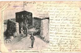 CPA N°21523 - BOER WAR - OLD FORT AT MAFEKING - DATEE 1900 + CACHETS - Afrique Du Sud