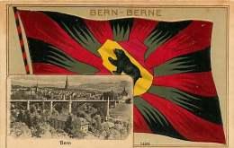 120618 - SUISSE BERN BERNE  Drapeau Ours - 14400 - BE Bern