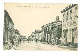 51 -- HAUTEVILLE - La Route D'Ambrières (café Restaurant...) - Other Municipalities