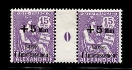 Alexandrie Maury N° 86 Millésime 1930 Neufs *. B/TB. A Saisir! - Alexandria (1899-1931)