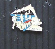 Pin's EDF GDF CMCAS Annecy - EDF GDF