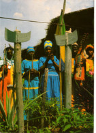 Secte Religieuse BWITI GABON SUPERBE CPSM 15X10,5 Animée Bon état Voir Scans - Gabon