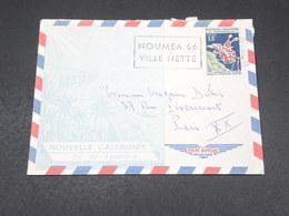 NOUVELLE CALÉDONIE - Enveloppe De Nouméa Pour Paris En 1966 - L 19077 - Briefe U. Dokumente
