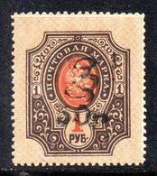703 490 - ARMENIA 1920 , 50R / 1 R. Unificato N. 55 Nuovo *** - Armenia